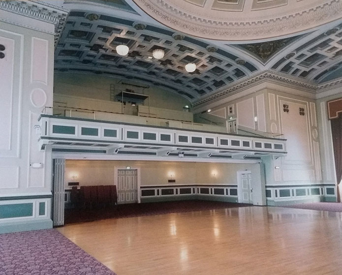 Music Hall, Assembly Rooms, 54 George Street - interior